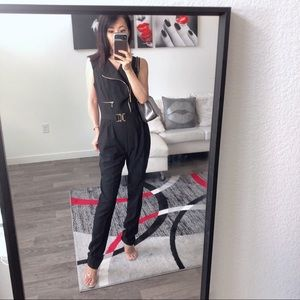Guess by Marciano black jumpsuit